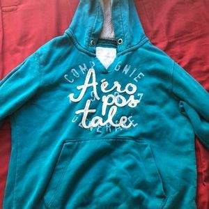 Aéropostale teal sweater
